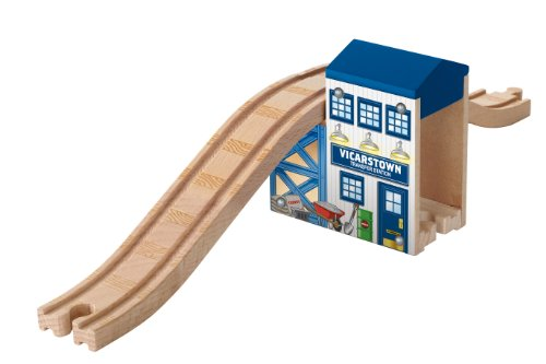 Fisher-Price Wooden Railway Over and Under Bridge - 1
