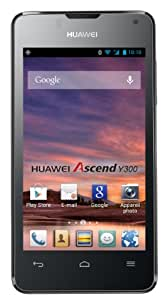 "Huawei Ascend Y300 - Smartphone libre Android (pantalla 4"" TFT, cámara 5 Mp, 4 GB, Dual-Core 1 GHz, 512 MB RAM), negro"