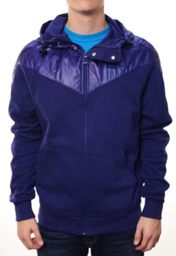 PUMA Puma Men's Original No.1 Hooded Full Zip Tech Track Running Jacket Blue-XL