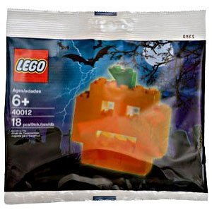 LEGO Seasonal Exclusive Mini Figure Set #40012 Pumpkin Bagged - 1
