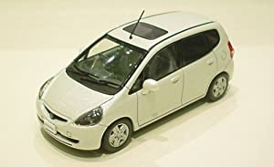 Honda Fit / Jazz 2001 Pearl White (New to US market in 1/43 Scale Diecast Model