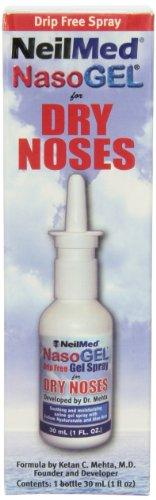 NeilMed Nasogel Drip Free Gel Spray, 1 Fluid
