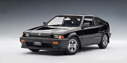 Honda Ballade CR-X Si Black 1:18 Autoart Model Car