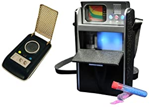 Diamond Select Toys Star Trek: Communicator and Tricorder, 2-Pack