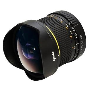 Opteka 6.5mm f/3.5 Manual Focus Aspherical Fisheye Lens for Canon EOS 60D, 60Da, 50D, 40D, 5D, 1Ds, 1D, Digital Rebel T1i, T2i, T2, XSi, XS, XTi, XT, T3, T3i and T4i Digital SLR Cameras