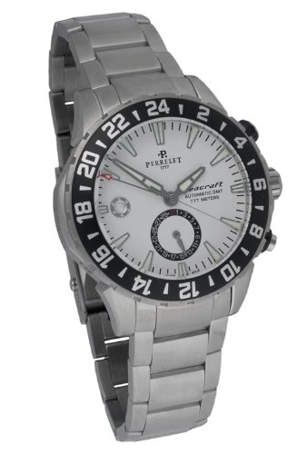 Perrelet Diver Seacraft Automatic GMT Men's Luxury Watch A1055/A