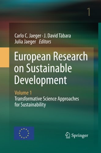 European Research on Sustainable Development: Volume 1: Transformative Science Approaches for Sustainability