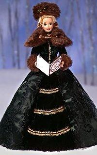 Buy Barbie Limited Edition Porcelain Holiday Caroler Doll