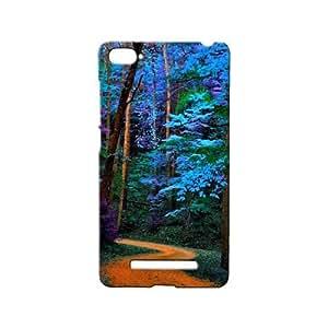 BLUEDIO Designer 3D Printed Back case cover for Xiaomi Mi4i / Xiaomi Mi 4i - G1363