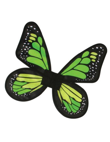 Costume-Accessory Butterfly Wings Satin Adult Costume Green Halloween Costume Item
