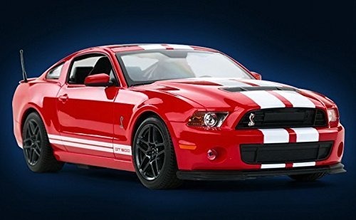 Radio Remote Control 1/14 Ford Mustang Shelby GT500 RC Model Car (Red) (Ford Model Cars compare prices)