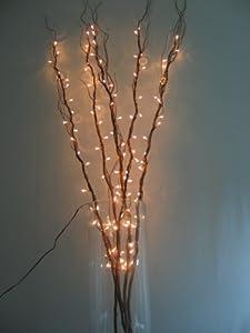 bella vita lot de 5 branches lumineuses 100 cm cuisine maison. Black Bedroom Furniture Sets. Home Design Ideas