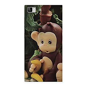 Special Toy Monkey Multicolor Back Case Cover for Xiaomi Mi3