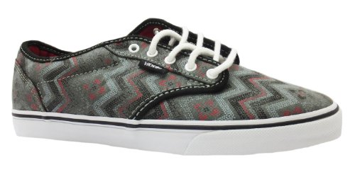 Women's Atwood Low Vans Tribal Print Lace Up Canvas Shoes