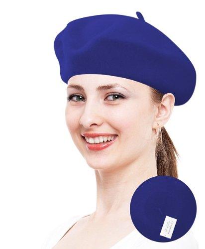 Classic Beret Royal Blue