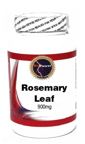 Rosemary Leaf 900Mg 90 Capsules # Biopower Nutrition