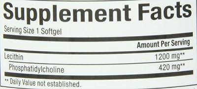 Natural Factors Phosphatidyl Choline 420 Mg Softgels, 90 -Softgels
