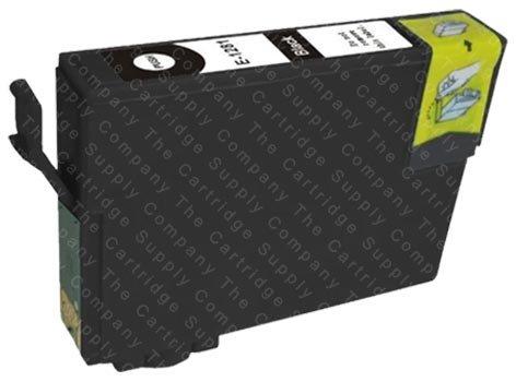 Kompatible Druckerpatrone Ersatz für T1291 Schwarz für Epson Stylus SX425W SX235W SX420 SX420W SX435W SX535WD SX445W SX525WD SX620FW SX440W SX430W SX230 SX625FW Office BX305F BX535WD BX635FWD BX305FW Plus BX320FW BX935FWD BX925FWD B42WD BX525WD BX625FWD BX630FW WorkForce WF-7015 WF-7525 WF-7515