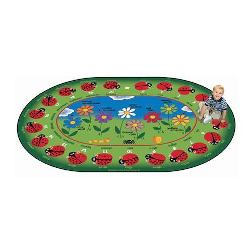 Bilingual Garden of Learning Rug