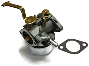 Carburetor Replaces Tecumseh 640260A 640260B Has Straight fuel fitting Only by OPD