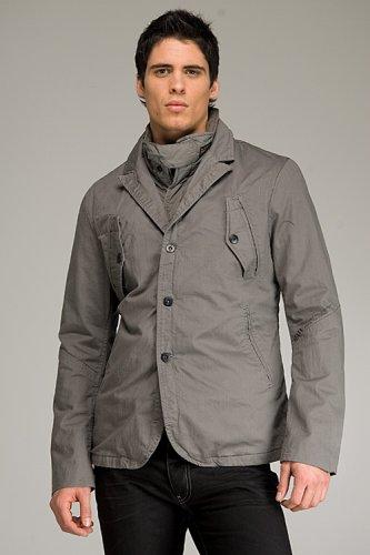 G-Star Battle Grey Blazer - Buy G-Star Battle Grey Blazer - Purchase G-Star Battle Grey Blazer (G-Star, G-Star Apparel, G-Star Mens Apparel, Apparel, Departments, Men, Suits & Sport Coats, Sport Coats & Blazers)