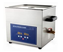 JeKen 20L Large Capacity Digital Ultrasonic Cleaner PS-G60A with Timer & Heater Without Basket 110V