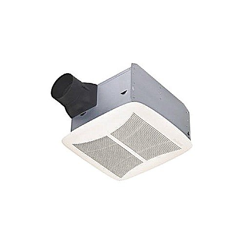 Nutone Qtrn110 80 Cfm 1.5 Sone Ceiling Mounted Hvi Certified Bath Fan From The U, White front-635899