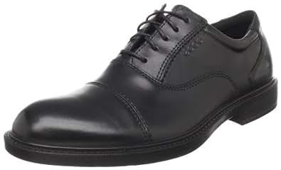 ECCO Men's Atlanta Cap Toe Lace-Up,Black,40 EU/6-6.5 M US