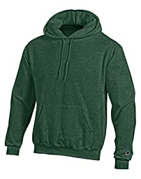 Champion Double Dry Action Fleece Pullover Hood-3XL-Dk Green Heather