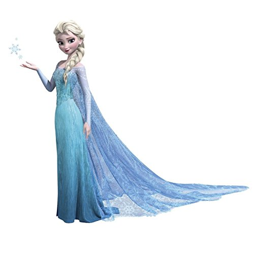 roommates-frozen-elsa-childrens-repositionable-wall-stickers-multi-colour