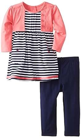 Amazon Little Me Baby Girls Camellia Shrug Jersey