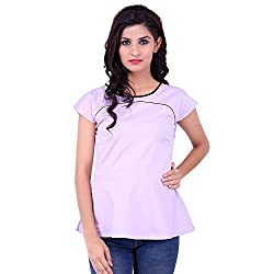 FBBIC Women's Party Wear Graceful Lycra Top