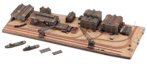 技MIX 地上航行模型シリーズ CK 情景ストラクチャー 艤装工場地帯セット