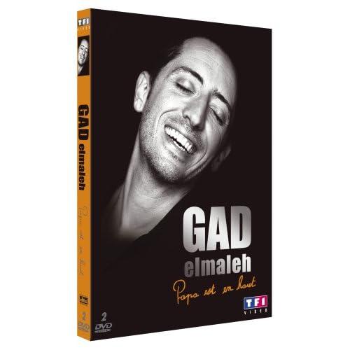 """Gad Elmaleh en direct   la dernière de """"Papa est en haut"""""""
