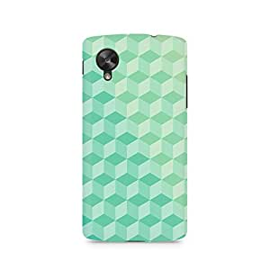 TAZindia Printed Hard Back Case Cover For LG Nexus 5