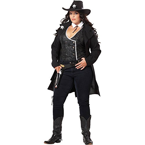 Round Em Up Cowgirl Plus Size Costume