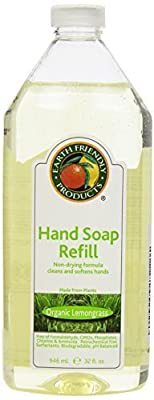 Earth Friendly Products Hand Soap Refill, 32 Ounce