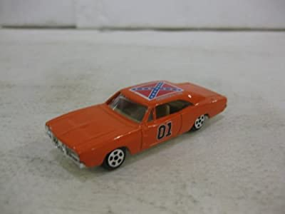 Dukes Of Hazzard General Lee Car In Orange Diecast 1:64 Scale By Ertl