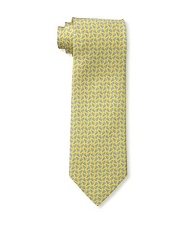 Salvatore Ferragamo Men's Spola Tie, Arancio