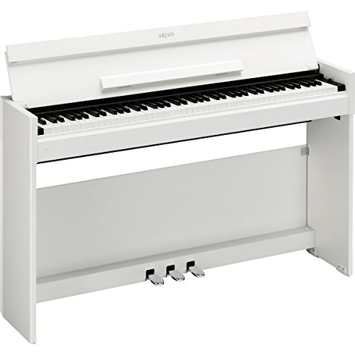 Yamaha Ydps51Wh | Arius 88 Key Weighted Action Console Home Digital Piano White Walnut