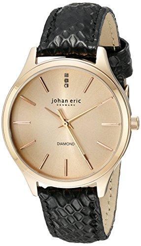 Johan Eric para mujer je2200 - 09-016, Herlev pantalla 7 analógico de cuarzo reloj de Hombre de estilo