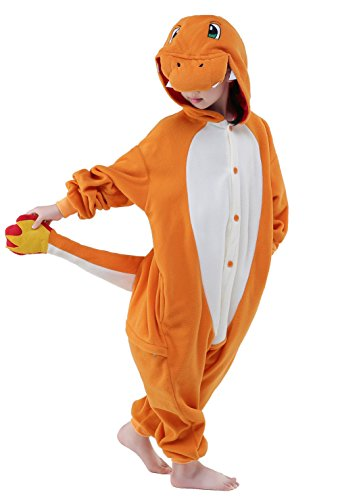 Newcosplay Children Costumes Kigurumi Pajamas Animal Onesies Cosplay Homewear Sleeping Wear (5- height 45~47