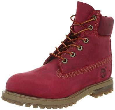 timberland af 6in prem 3204r bottes femme rouge rot red 39 chaussures et sacs. Black Bedroom Furniture Sets. Home Design Ideas