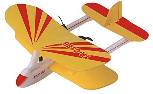Top-Race-C188-Electric-2-Ch-Infrared-Remote-Control-RC-Biplane-Airplane-RTF-Colors-Vary
