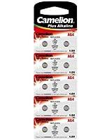 10 piles camelion AG4 alkaline LR626 / 377 plus alkaline