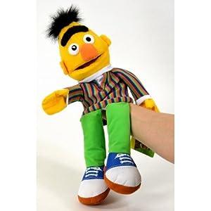 Bert des Sesame Street Peluche Marionnette 3D 41cm