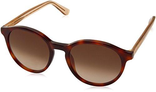Tommy Hilfiger Th1389s Round Sunglasses, Havana Beige/Brown Gradient, 52 mm
