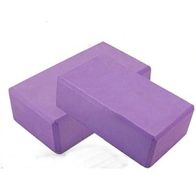 Yoga Schaum Block Brick Pack von zwei