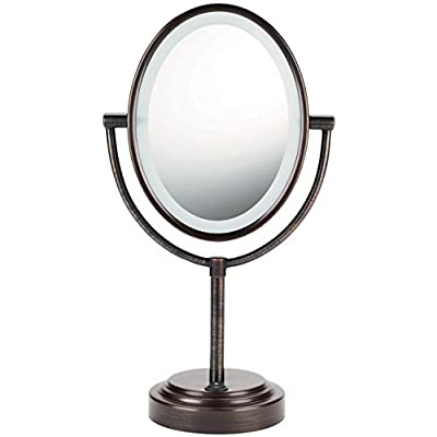 VDOMUS® 8 in Double-Sided Wall Mount Makeup Mirror
