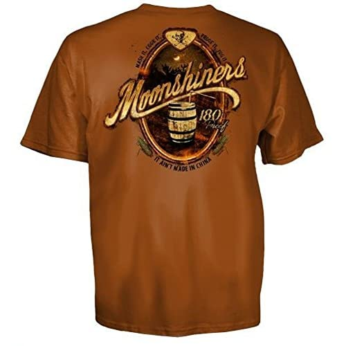 Moonshiners 180 Proof It Ain't Made In China T-Shirt